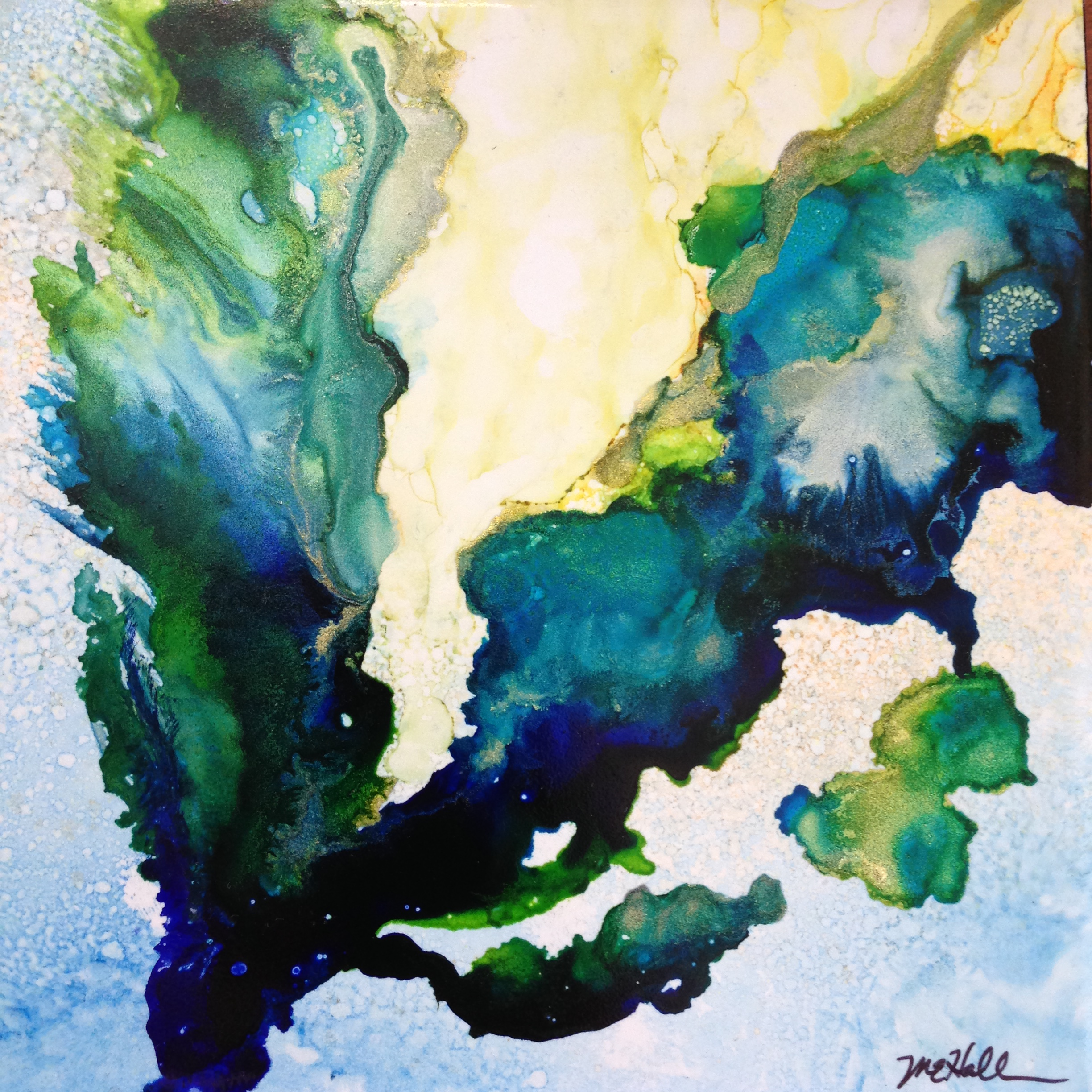 Alcohol Ink Painting 1: Reawakening Your Creativity! (incl mat'l